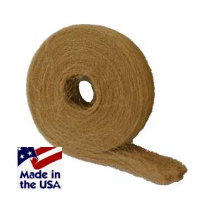 Typical 5 lb reel of bronze wool