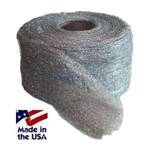 Medium Grade Lustersheen Oil Free Steel Wool 3.5 Oz Skein Grade 1